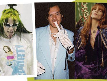 Harry Styles, Billie Eilish e Florence Welch juntos, mas não é no palco… Confira essa história!