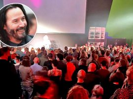 Keanu Reeves e equipe de Matrix 4 descumprem lockdown na Alemanha e se jogam em festa com mais de 200 pessoas