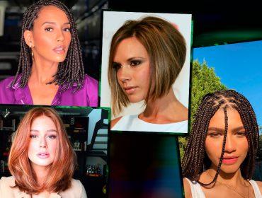 Do long bob às tranças boxeadoras: pesquisa revela quais são os cortes e penteados queridinhos das brasileiras