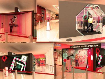 JK Iguatemi arma espaço interativo para produção de vídeo exclusivos para o TikTok