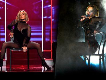 Jennifer Lopez se apresenta no American Music Awards e internet diz que é cópia de Beyoncé. Entenda!