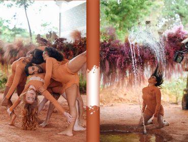 Laces and Hair une arte e dança em intervenções por São Paulo para mostrar as possibilidades de coloração da marca