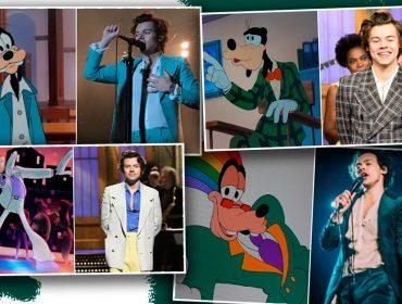 Harry Styles copia os looks do Pateta e a internet prova isso. Vem ver as comparações!