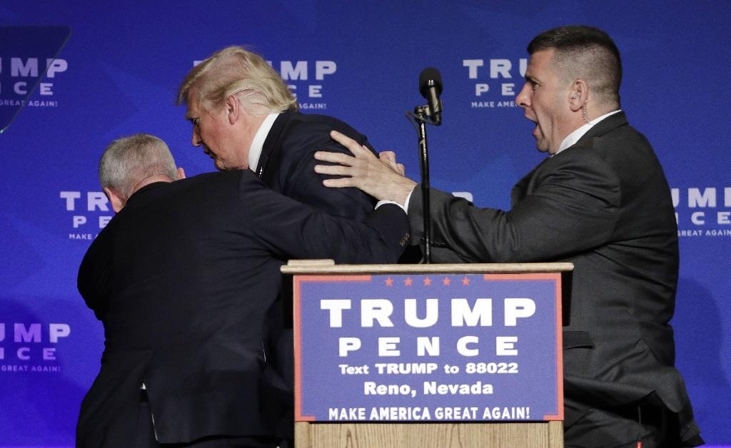 E olha que os agentes do Serviço Secreto dos EUA nem gostam muito dele