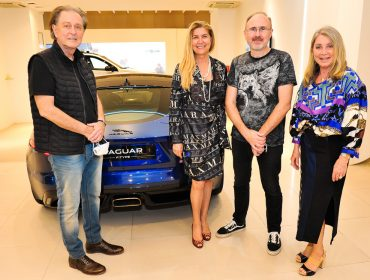 Inauguração da pop-up store da Jaguar Land Rover no Iguatemi