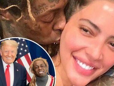Lil Wayne teria perdido a namorada por causa de seu 'apoio extremado' a Donald Trump