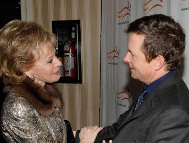 Lily Safra e Michael J. Fox