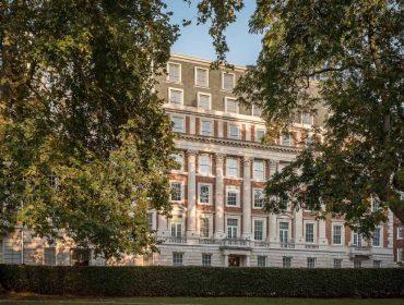 O prédio do Mayfair onde fica o apê