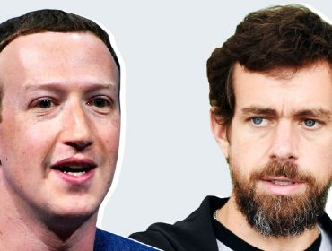 Mark Zuckerberg e Jack Dorsey