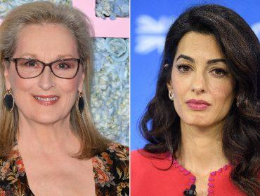 Meryl Streep e Amal Clooney