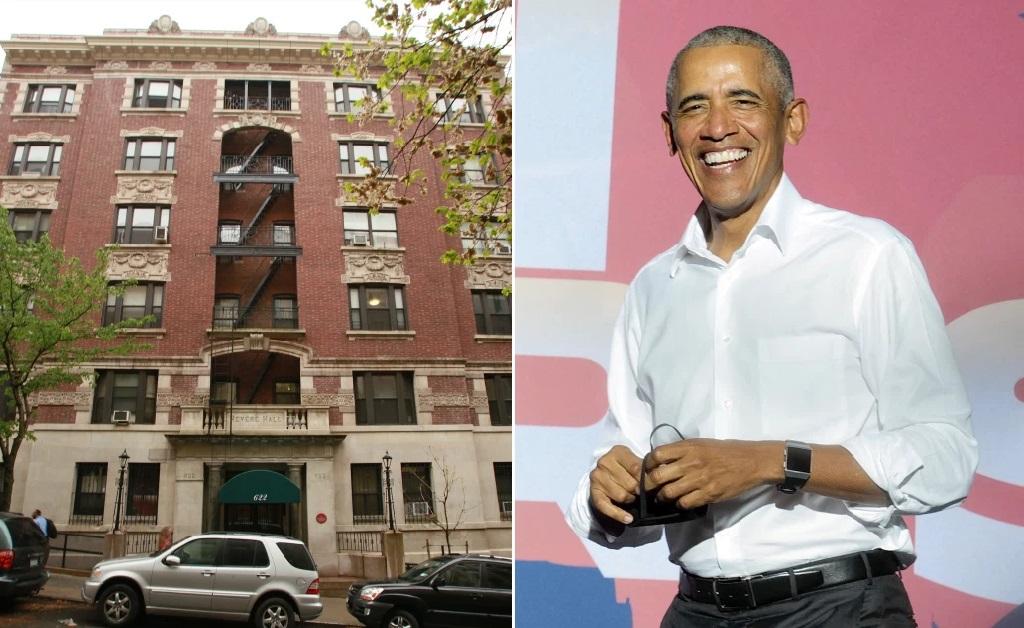 O endereço de estudante de Obama em NY