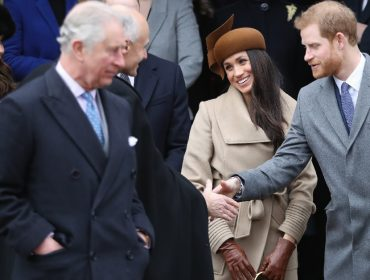 Charles, Meghan Markle e Harry