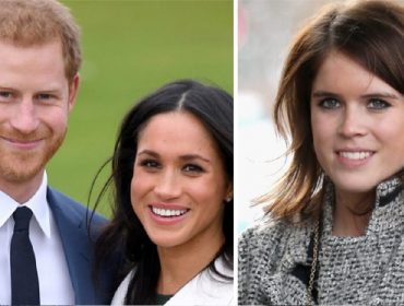 Harry e Meghan, e a princesa Eugenie