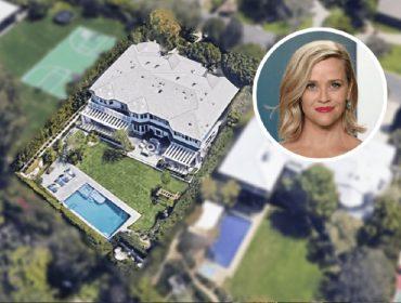 Reese Witherspoon diz adeus a Los Angeles e fatura quase R$ 130 mi vendendo os imóveis que tinha lá