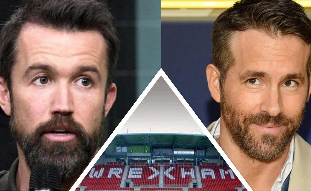Rob McElhenney e Ryan Reynolds, os novos donos do Wrexham