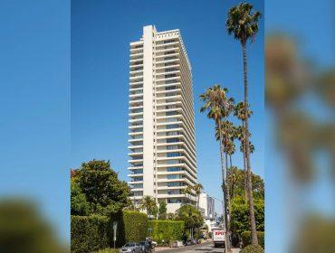 O edifício é um dos mais exclusivos de LA