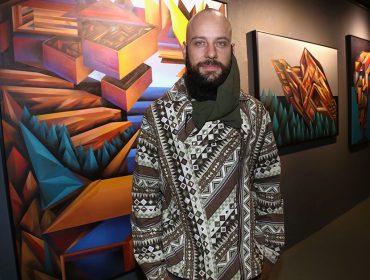"""Abertura da exposição """"Paisagens Digitais"""", do artista Tché, movimentou a A7MA Galeria, em SP"""