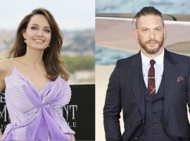 Encontro sigiloso de Angelina Jolie e Tom Hardy em Los Angeles quase passa despercebido… quase…