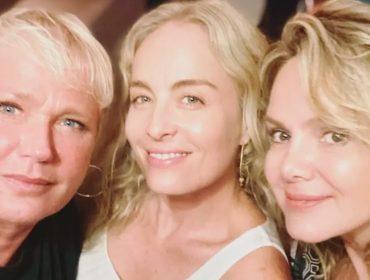 Xuxa conta que grupo de WhatsApp com Angélica e Eliana bomba com a troca de um certo tipo de figurinha…Qual?