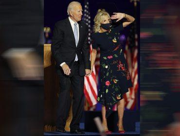 Efeito Jill Biden! Vestido de R$30 mil usado pela próxima primeira-dama dos EUA no evento da vitória esgota em poucas horas