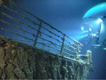 Registro do Titanic em expedição realizada há mais de 15 anos