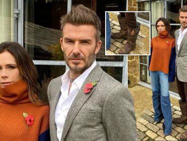 """David Beckham surge com as 'botas do Gastão' no Insta e é trolado pela própria mulher: """"Minha vingança será maligna"""""""