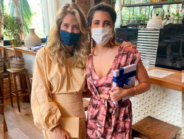 Ana Raia e Maria Helena Pessôa de Queiroz  lançam Coleção Travessia, no Manioca do Iguatemi SP