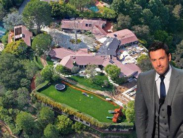Ben Affleck e sua mansão em Pacific Palisades