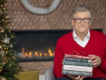 Bill Gates lista suas 5 melhores leituras de 2020, seguindo uma antiga tradição. Aos livros!