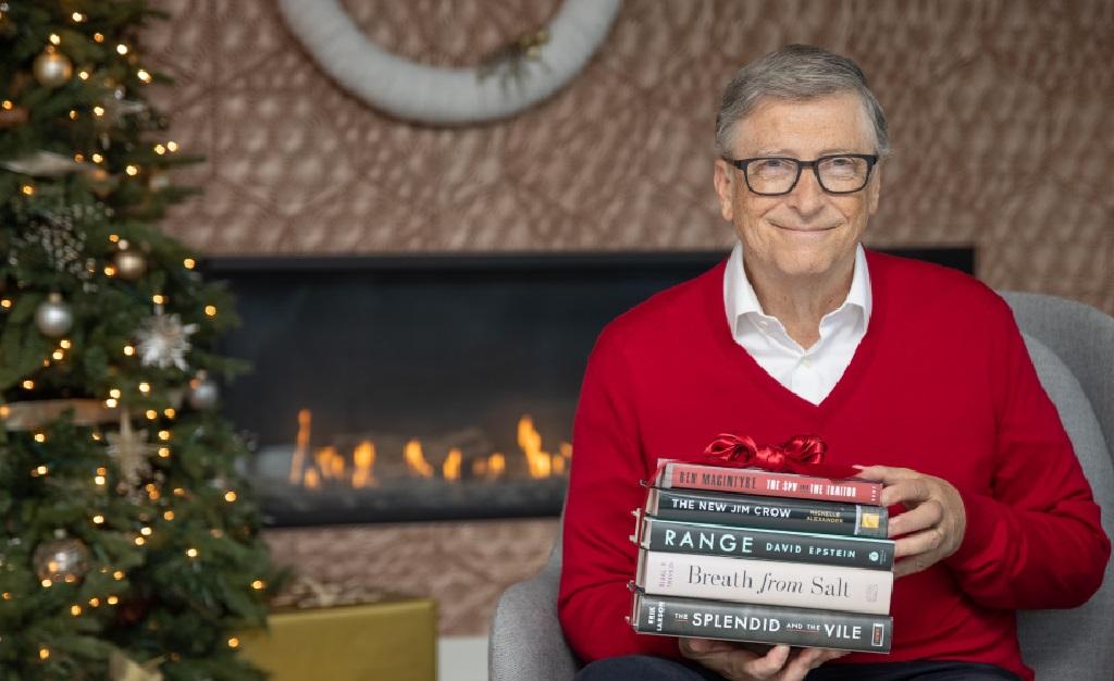 Bill Gates e seus 5 livros favoritos lidos nesse ano