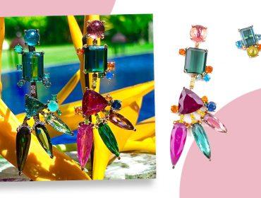 Desejo do dia: os brincos da coleção 'Araras' da Deus Dois inspirados no Brasil