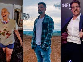 Quarentena saudável: confira os artistas que malharam e perderam peso durante o isolamento social
