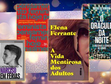 No Dia do Leitor, selecionamos 12 livros que você precisa ter na sua cabeceira já