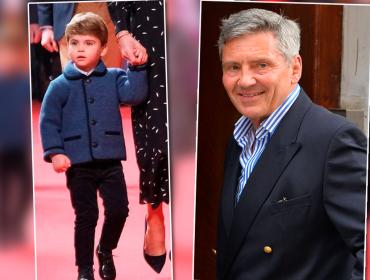 Aos dois anos, Príncipe Louis é comparado ao avô…e não estamos falando de Charles