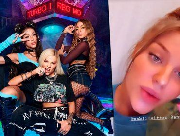 """Vazamento de single de Anitta, Pabllo Vittar e Luísa Sonza gera revolta: """"Vamos até o inferno para achar você"""""""