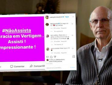 """Padre Julio Lancellotti assistiu ao especial de Natal do Porta dos Fundos, ' Teocracia em Vertigem', e deu seu aval: """"Impressionante"""""""
