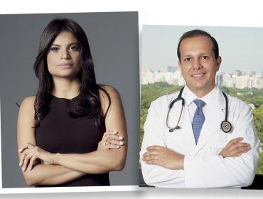 Renata França bate papo com o Dr. Rodrigo Mangaravite sobre a importância da massagem pós cirurgia plástica
