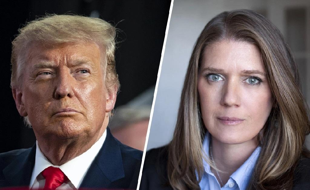 Donald Trump e sua sobrinha, Mary Trump