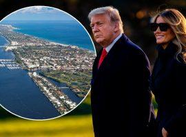 De acordo com jornal, Trump estaria em busca de um novo lar na Flórida próximo de seu clube