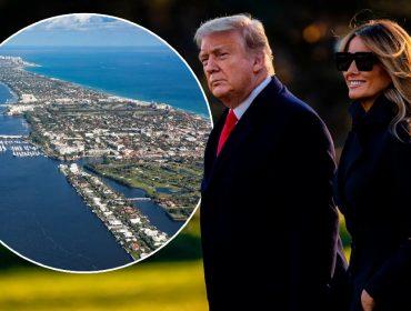 Palm Beach, na Flórida, é o próximo destino dos Trumps