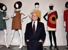 Morre, aos 98 anos, Pierre Cardin e a moda perde um de seus grandes ícones