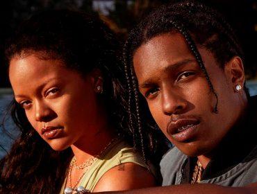 Rihanna e A$AP Rocky, amigos de longa data, estariam namorando. Casalzão que chama!