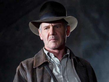 Harrison Ford no último filme da saga, de 2008