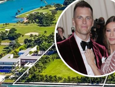 Gisele e Tom pagam mais de R$ 85 milhões por terreno localizado no 'Bunker dos Bilionários' de Miami