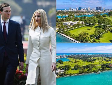 Filha e genro de Trump compram terreno que pertencia a Julio Iglesias em point exclusivo de Miami