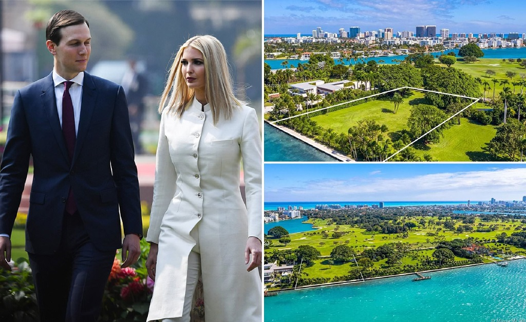 Ivanka Trump e Jared Kushner, e o terreno que os dois compraram