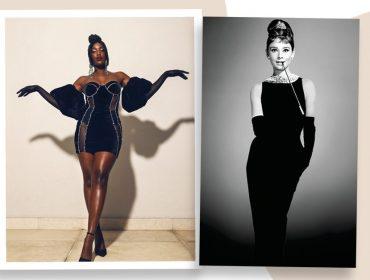 Iza arrasa em releitura do figurino de Audrey Hepburn em 'Bonequinha de Luxo' no The Voice