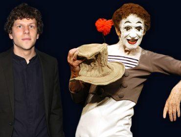 "Jesse Eisenberg interpretou o mímico francês em ""Resistance"""