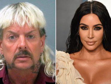 Joseph Allen Maldonado-Passage, mais conhecido como Joe Exotic, e Kim Kardashian
