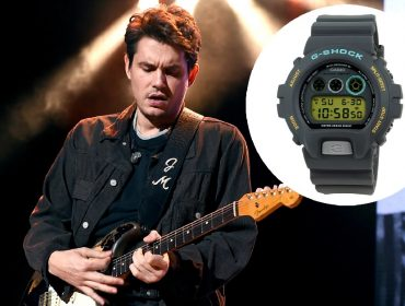 John Mayer e o modelo exclusivo da Casio que ele assina
